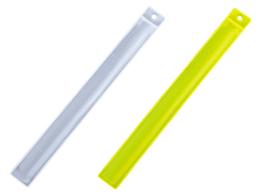 穴付き反射キャッチバンド 白:LB-8 レモン:LB-9