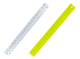 広角度反射キャッチバンド 白:LB-20 蛍光黄:LB-21